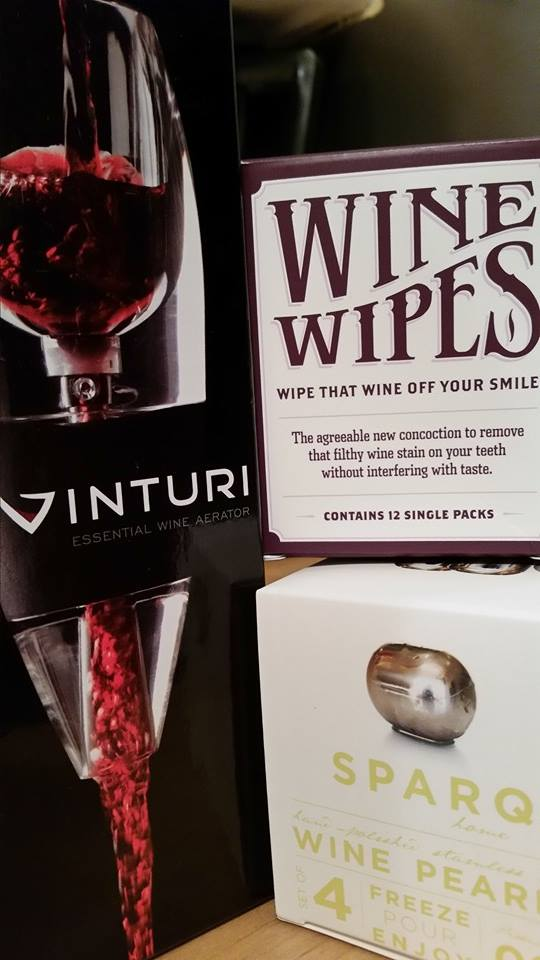 Some wine gadget samples to be reviewed soon.